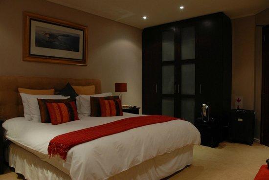 Aqua Terra: Unser Schlafzimmer (ebenfalls mit Panoramafenster)