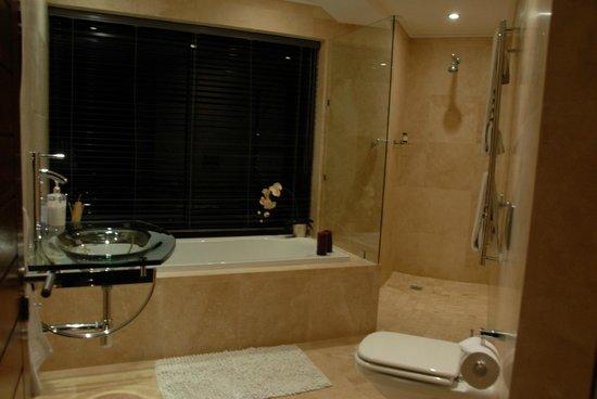 Aqua Terra: Das Badezimmer mit Panoramafenster