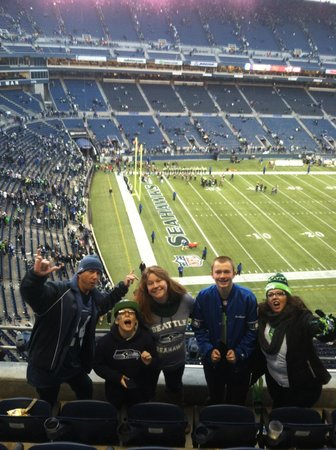 CenturyLink Field : After the Hawks win!