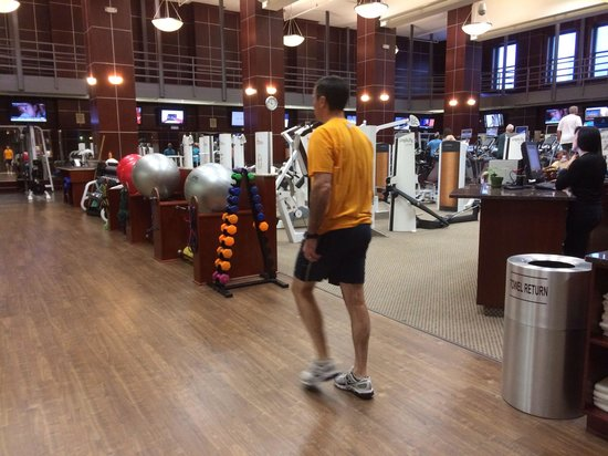 The Grand Hotel Minneapolis - a Kimpton Hotel: Workout area!