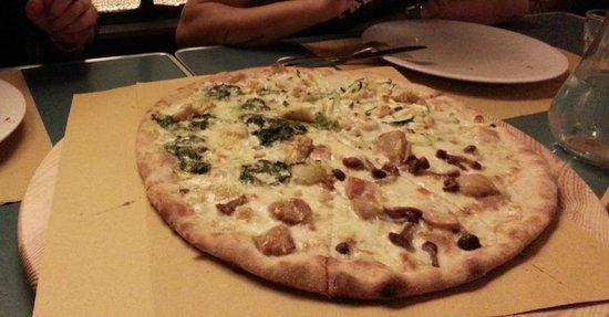Pizzeria Birmhana: Giro pizza