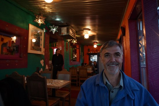 Orlando's New Mexican Cafe : Rick Inside the Restaurant