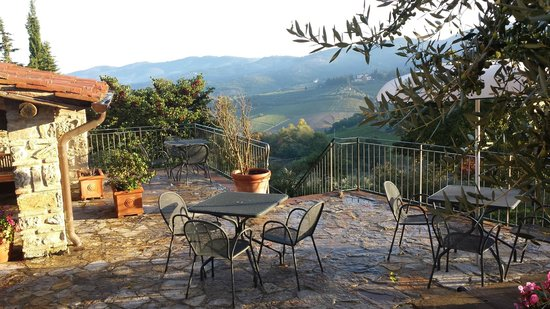 Il Casello Country House B&B: view from one of the patios