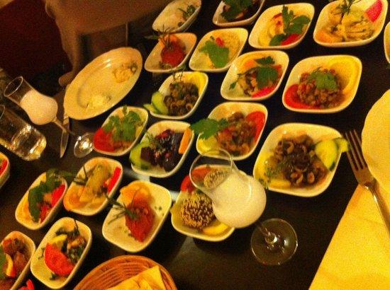 Bekaa Libanesisches Restaurant: Mezeler