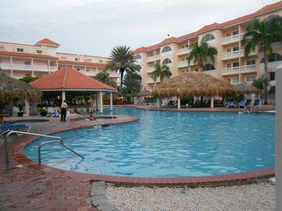 Tropicana Aruba Resort & Casino: La piscina del tobogan