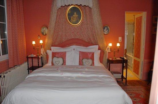 Le Chateau de l'Abbaye : notre chambre