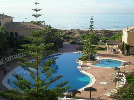 Barcelo Punta Umbria Mar: vista desde la habitacion.