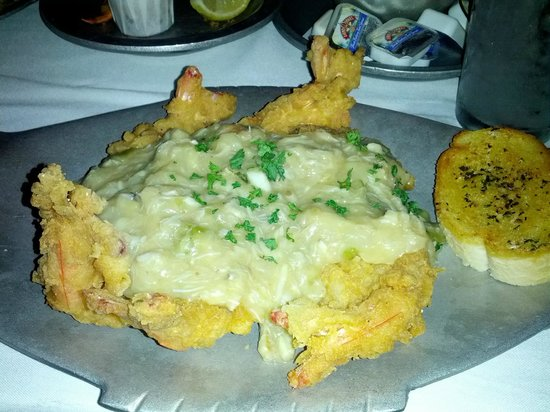 Mike Anderson's Seafood - Gonzales: The Norman on Shrimp at Mike Anderson's Seafood in Gonzales, LA