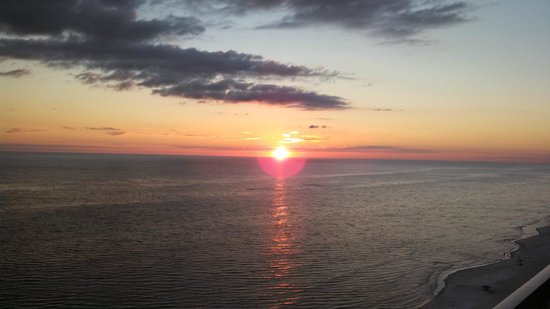 Celadon Beach Resort: Sunset from balcony