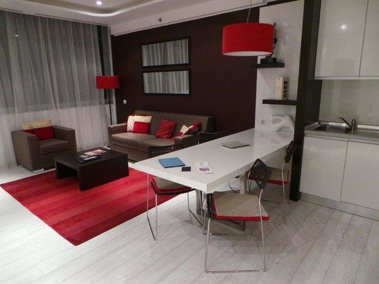 Boscolo Residence: Living Room