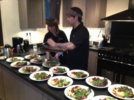 Star Ski Chalets: David and Olivia - our excellent young chefs