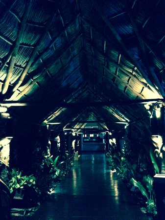 Occidental Nuevo Vallarta : Breezeway at night