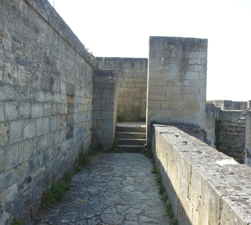 Chateau Ducal: castle wall