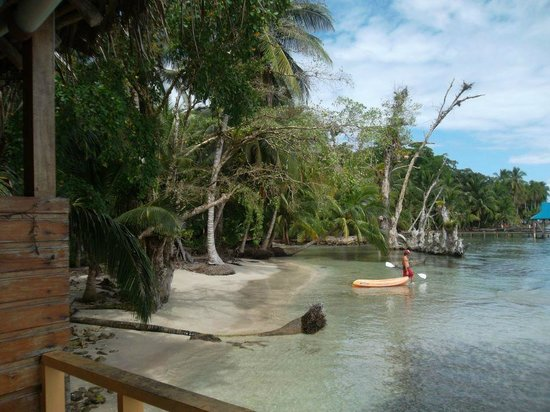 Gran Kahuna Beach Hostel: The island.