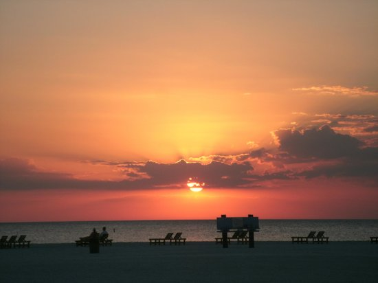 Pointe Estero Resort: sunset, which you can also view from your room