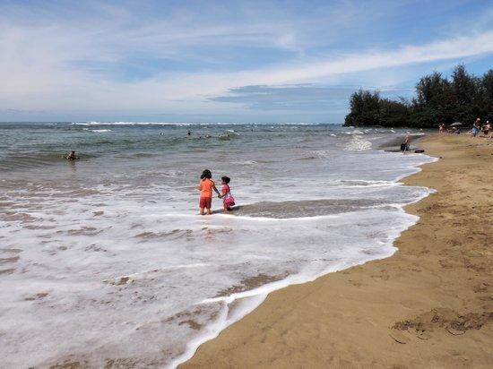 Makai Club : Hanalei beach
