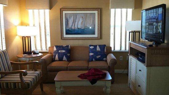 Sheraton Broadway Plantation Resort Villas : living room