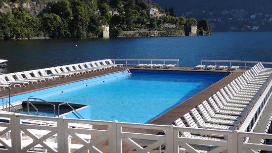 Villa d'Este : Floating pool