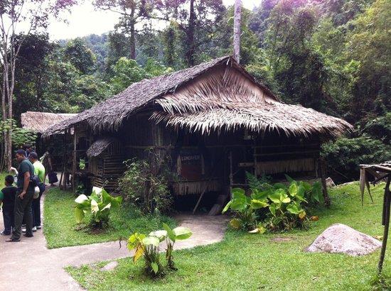 Mari Mari Cultural Village: The Lundayeh's house