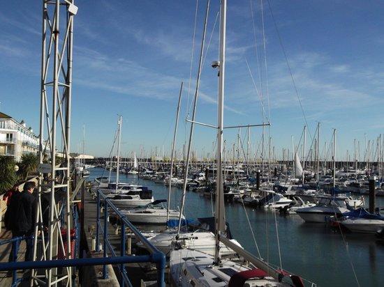 Brighton Marina: the marina