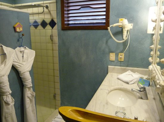Club Med Trancoso: Banheiro do quarto
