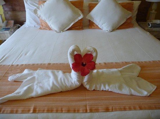 Club Med Trancoso: Decoração do quarto