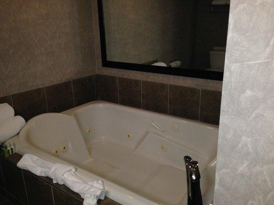 Executive Royal Hotel Edmonton : Double Jacuzzi