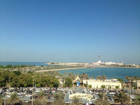 Hilton Abu Dhabi: Вид с номера