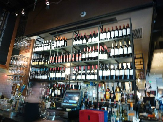 Lots of wine but try the cosmo picture of m street for M kitchen santa monica