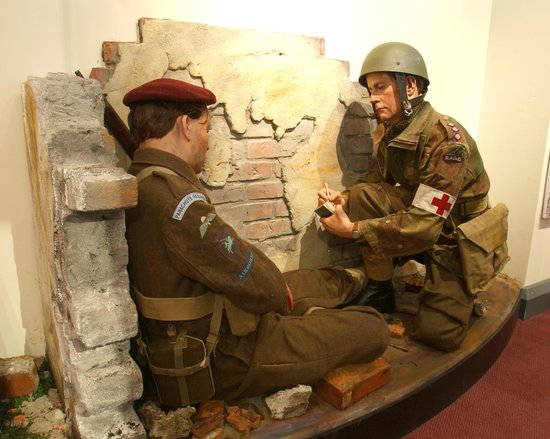 One of the displays in the Museum of Army Chaplaincy, Hampshire.