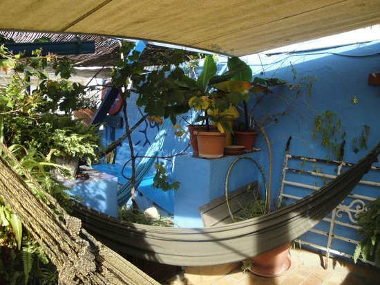 Casa Caracol: the rooftop hammocks