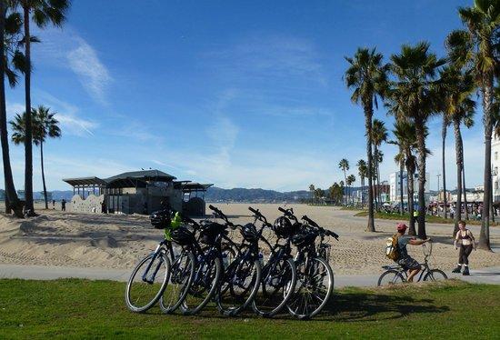 Bikes And Hikes LA: Lunch break
