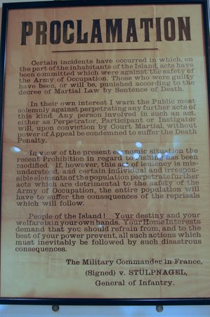 The Channel Islands Military Museum: another document