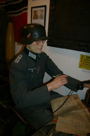 The Channel Islands Military Museum: exhibit