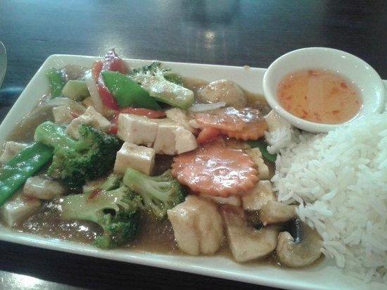 Saigon Kitchen: Lunch: Tofu in Lemongrass Sauce