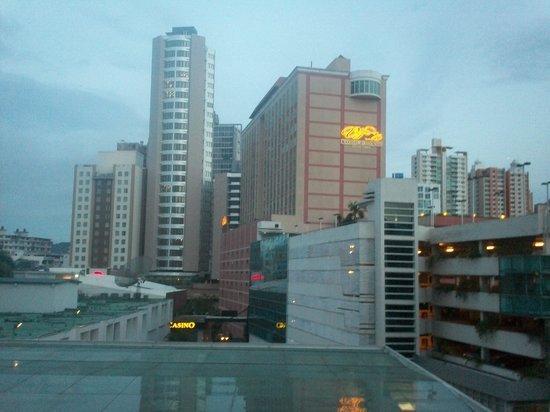 Hotel El Panama: the view un the third floor.