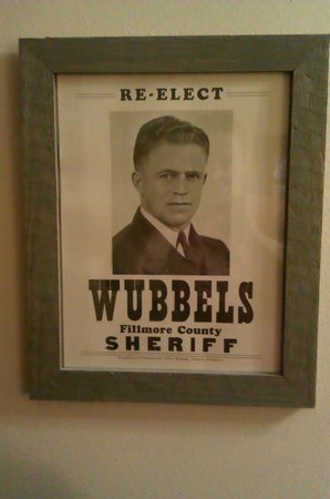 JailHouse Inn: Photo of Sheriff Wubbels