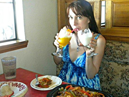 El Caporal: Yummy drinks!
