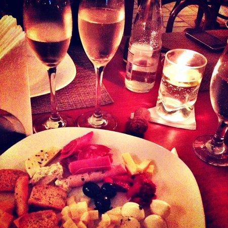 Uma noite especial em um restaurante especial