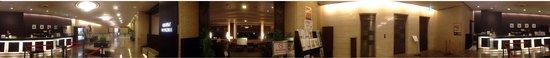 Mitsui Garden Hotel Osaka Yodoyabashi: パノラマ写真です。