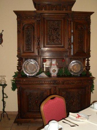 Hotel Real D'Obidos : интерьер ресторана