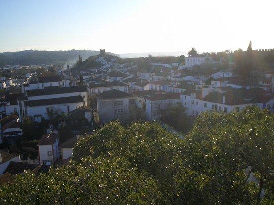 Hotel Real D'Obidos: виды города