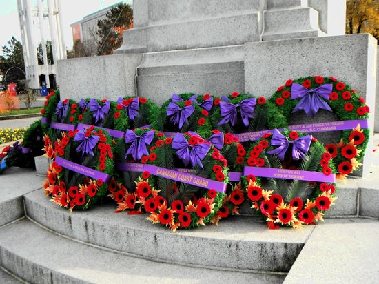 British Columbia Parliament Buildings: Remembrance Day