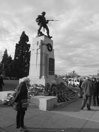 British Columbia Parliament Buildings: Lest We Forget