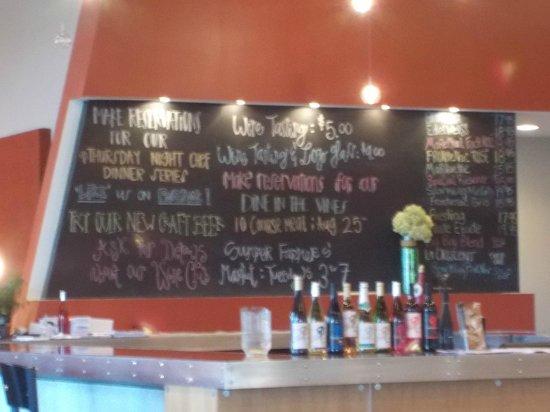 Four Daughters Vineyard & Winery: Restaurant Menu