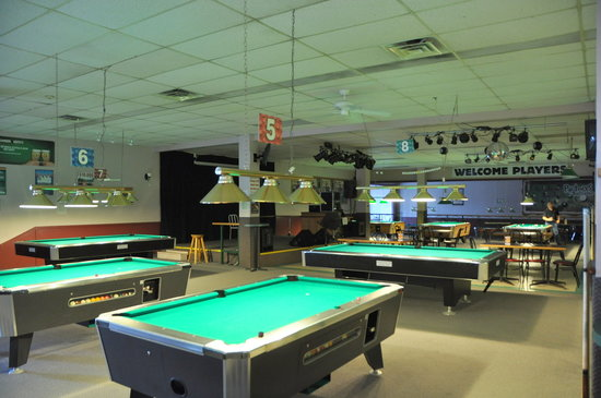 VNEA approved tables - Picture of Partners Billiards and