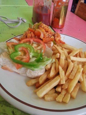 Meldy's: spicey lobster burger