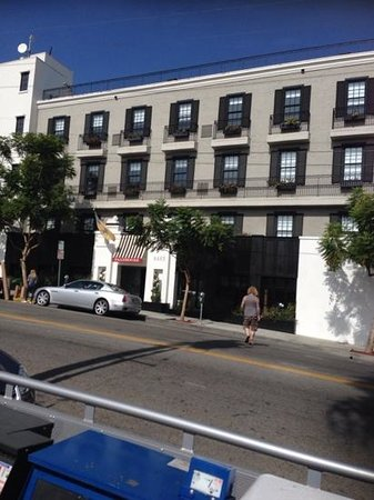 Palihouse West Hollywood : the front of the hotel