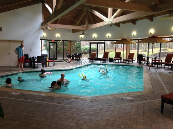 Portland Marriott at Sable Oaks: Marriott Sable Oaks Saltwater Pool