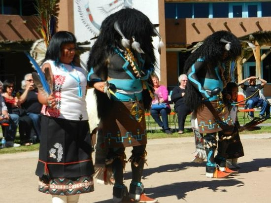 Indian Pueblo Cultural Center : This was the 1st group of dancers